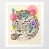 Leopard Changes His Spot… Art Print
