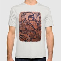 Bird      Mens Fitted Tee Silver SMALL