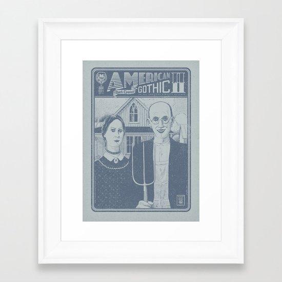 American Gothic II Framed Art Print