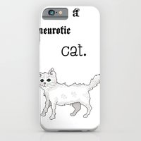 Neurotic Cat iPhone 6 Slim Case