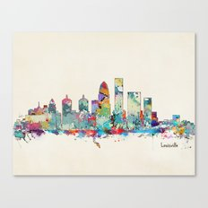 Louisville Kentucky Skyl… Canvas Print