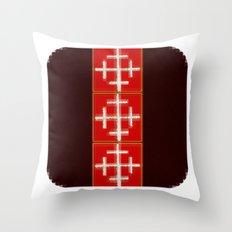 JMerréll 8 Throw Pillow