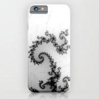 detail on mandelbrot set - pseudopod iPhone 6 Slim Case