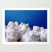 The Fluffy Mountains! Art Print