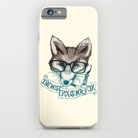 The Mischievous Mr. Fox iPhone & iPod Case