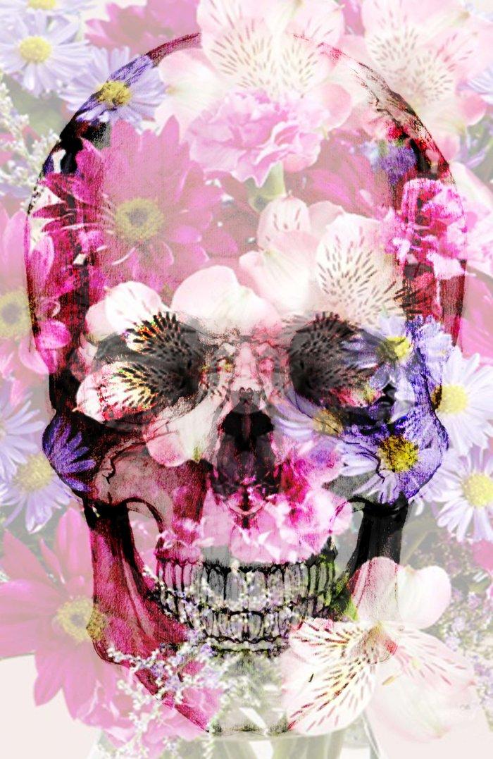 Skull 2.0 Art Print by Rheeka | Society6