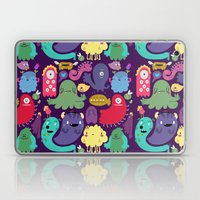 Colorful creatures Laptop & iPad Skin