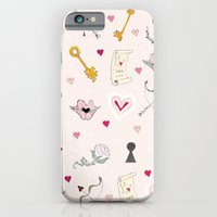 iPhone & iPod Case featuring happy valentine by nefos