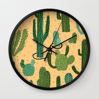 The Snake, The Cactus An… Wall Clock