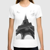 eiffel T-shirts featuring Eiffel by Julie Photographie