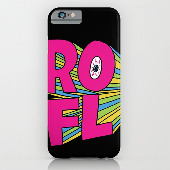 ROFL iPhone & iPod Case