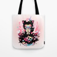 Lucky Kitty Tote Bag