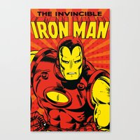 IronMan 2 Canvas Print