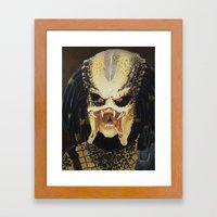 The Predator Framed Art Print