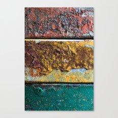 Rusty Flag Canvas Print