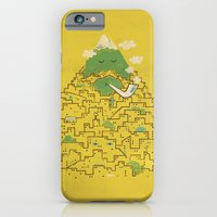 iPhone & iPod Case featuring The Bearded City by Tatak Waskitho
