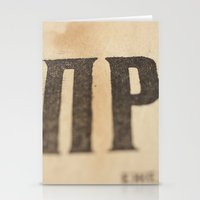 Stained Stationery Cards