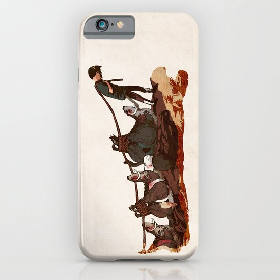 Hunting Boar iPhone & iPod Case