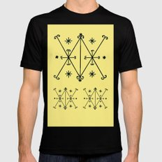 Voodoo Symbol Ayzian Black Mens Fitted Tee SMALL