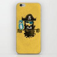 Trendy Pirate  iPhone & iPod Skin