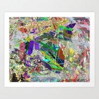 JACKSON POLLOCKHEED SR 7… Art Print