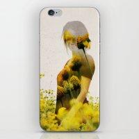 Yellow Meadow iPhone & iPod Skin