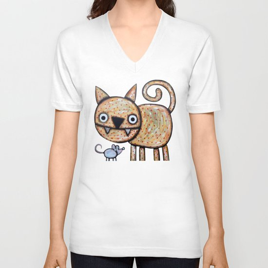 Secret meeting V-neck T-shirt