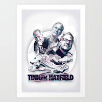 TINKER HATFIELD: DESIGN HEROES Art Print