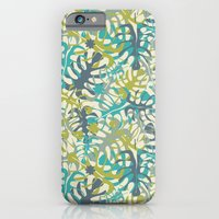 iPhone & iPod Case featuring Tropical leaves by Juliagrifol designs