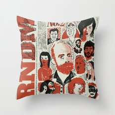 RNDM#2 Throw Pillow