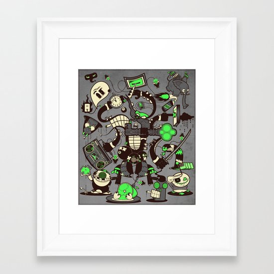 Capers, Schemes, Plans, and Scams Framed Art Print