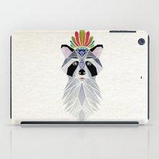 raccoon spirit iPad Case