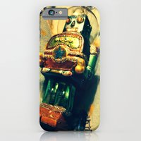 Vintage Christmas Robot iPhone 6 Slim Case