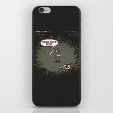 Game Over iPhone & iPod Skin