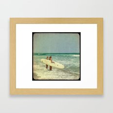 Girls of summer ttv Framed Art Print