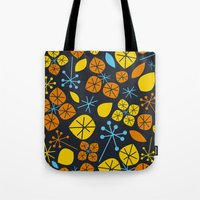 Leaf Scatters Tote Bag