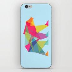 Fractal Bear - neon colorways iPhone & iPod Skin