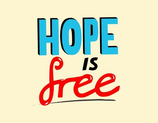 Free Hope Art Print