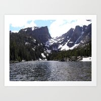 Bear Lake - Rocky Mounta… Art Print