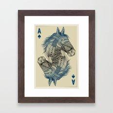American Pharoah (Ace) Framed Art Print