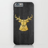 iPhone & iPod Case featuring Geometry of a Deer by Nick Nelson