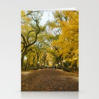 Central Park New York Ci… Stationery Cards