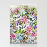 Dreams Wishes And Creativity Stationery Cards