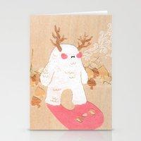 Wendigo Stationery Cards