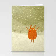 Suddenly An Old Friend I… Stationery Cards