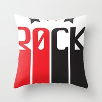 30CK - ROCK Throw Pillow
