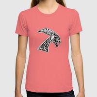 Celtic Xenomorph Womens Fitted Tee Pomegranate SMALL