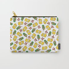 Bart Simpson Icons Carry-All Pouch