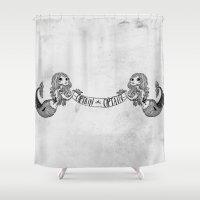 Captain -oh- Captain! Shower Curtain