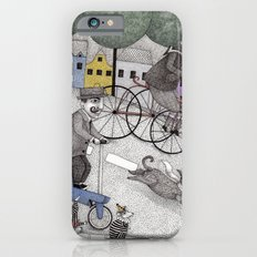 The Day the Cat got Away iPhone 6 Slim Case